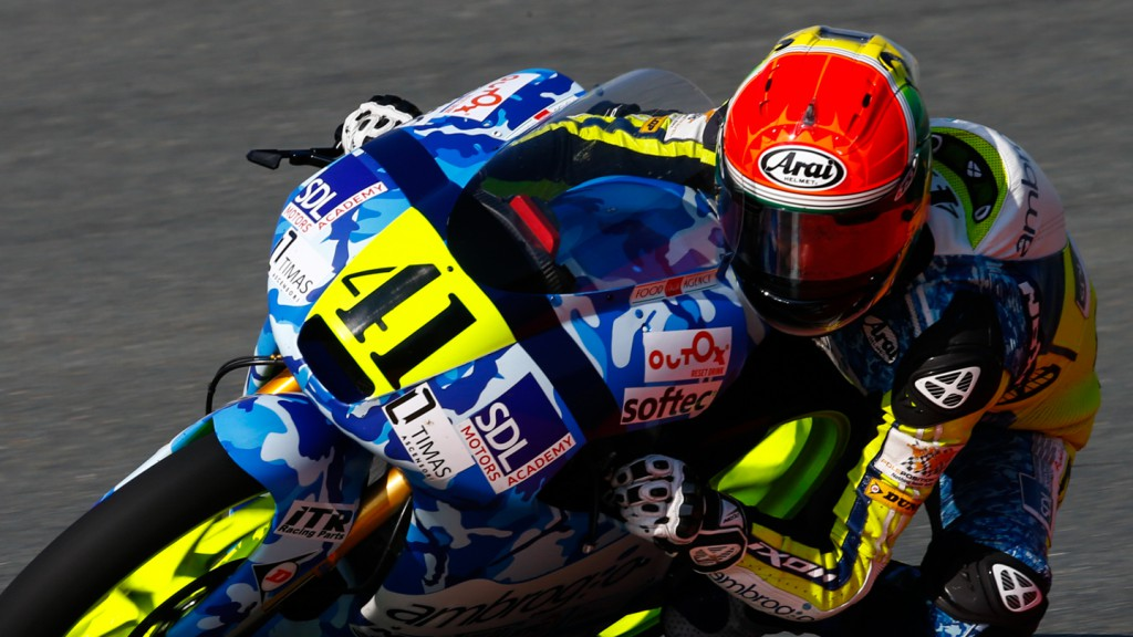 Brad Binder, Ambrogio Racing, GER FP1