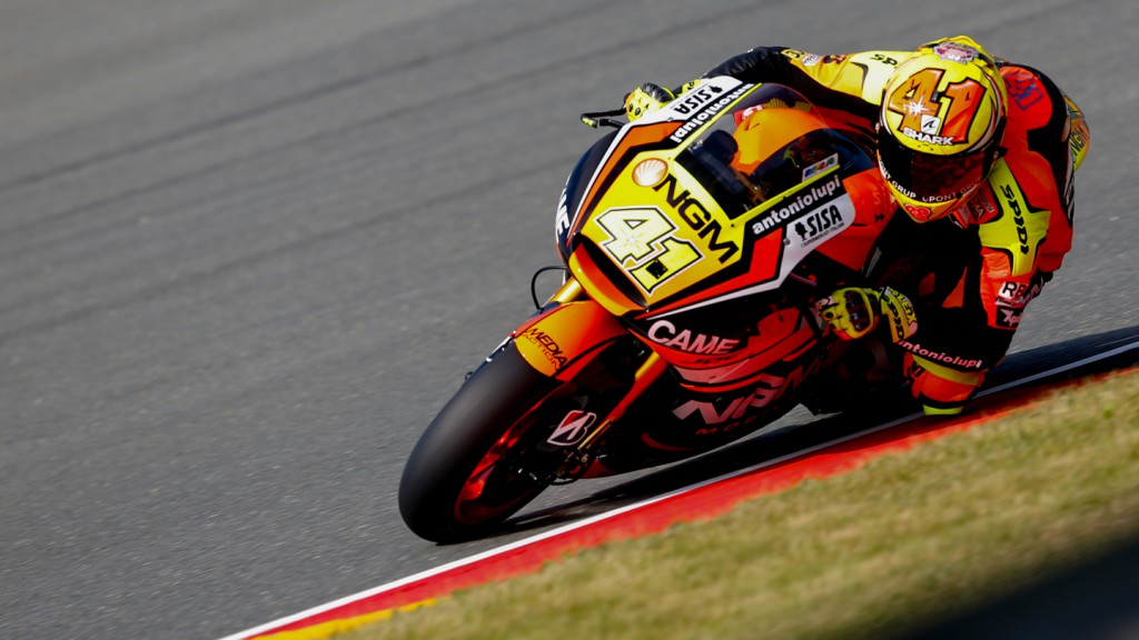 Aleix Espargaro, NGM Forward Racing, GER FP1