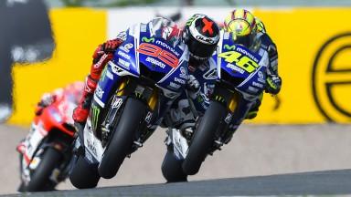 Jorge Lorenzo, Valentino Rossi, Movistar Yamaha MotoGP, GER FP2