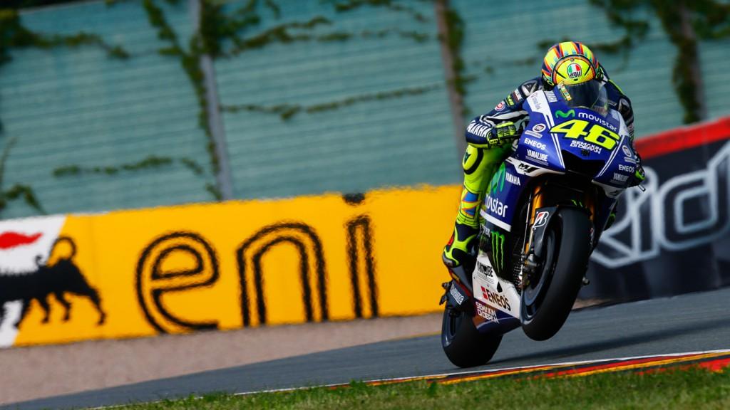 Valentino Rossi, Movistar Yamaha MotoGP, GER FP2