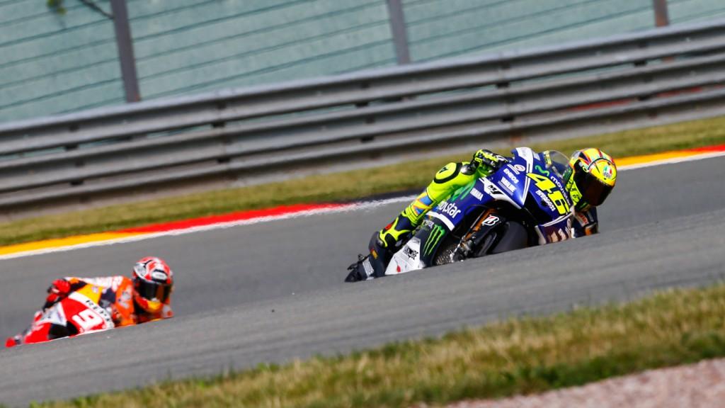 Valentino Rossi, Movistar Yamaha MotoGP, GER FP1