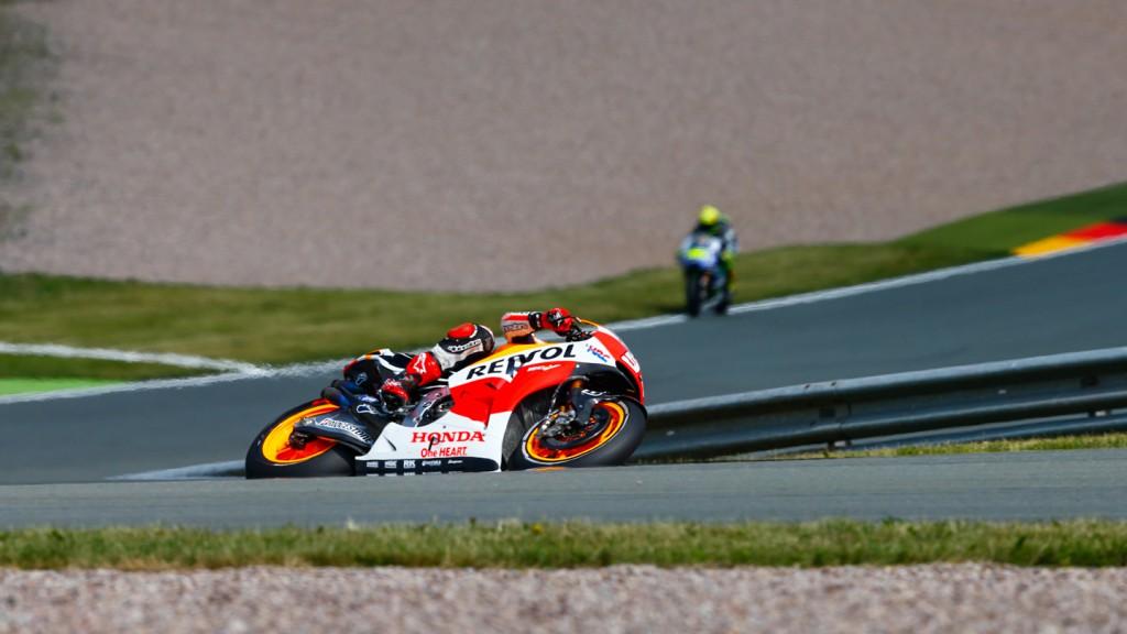 Marc Marquez, Repsol Honda Team, GER FP1