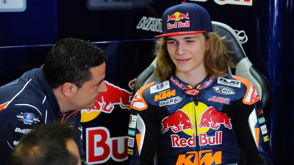 Karel Hanika, Red Bull KTM Ajo, GER FP2