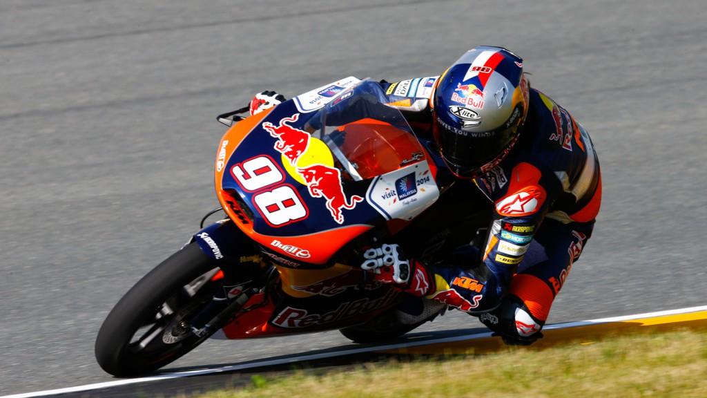 Karel Hanika, Red Bull KTM Ajo, GER FP1