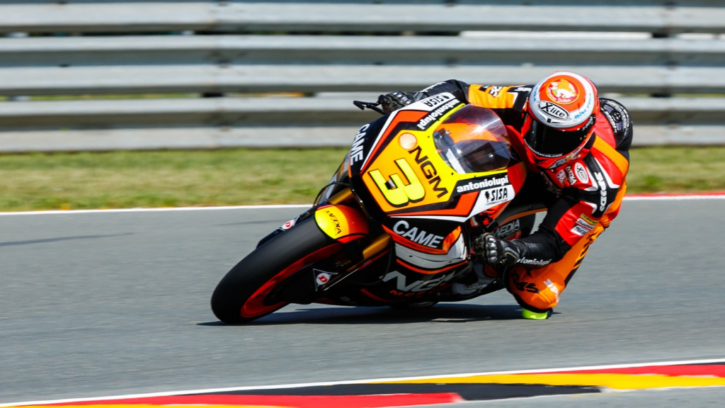 Simone Corsi, NGM Forward Racing, GER FP3