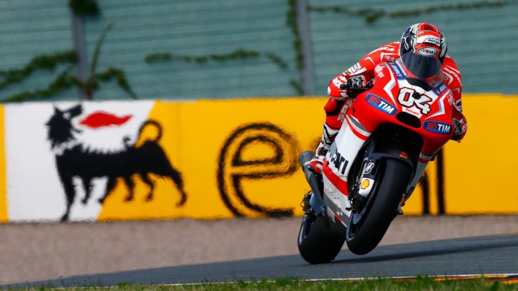 Andrea Dovizioso, Ducati Team, GER FP3