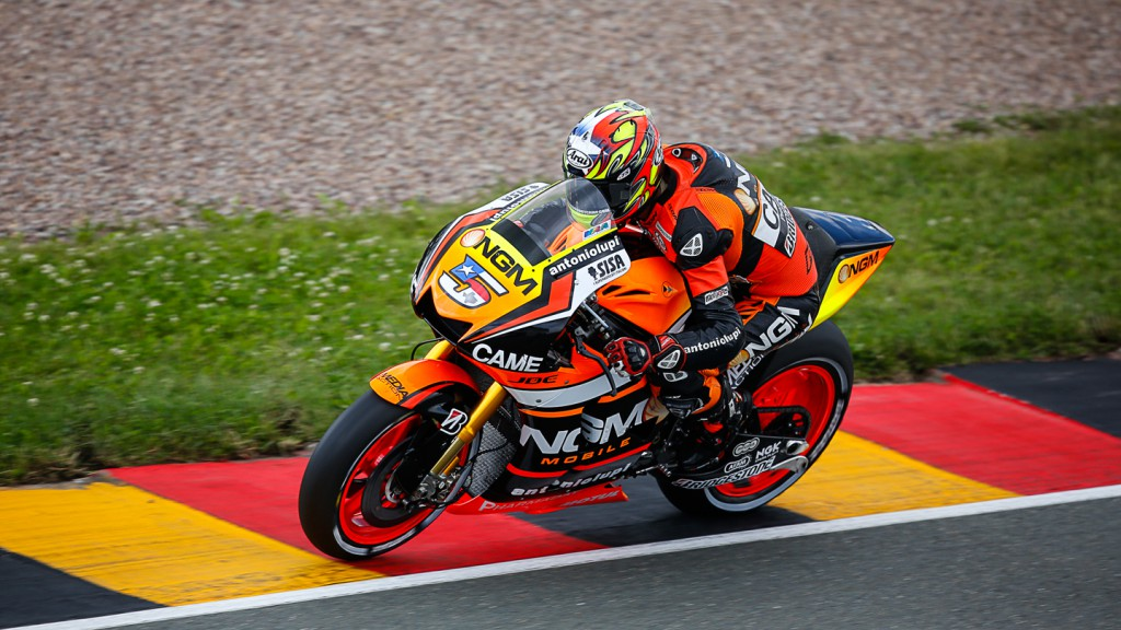Colin Edwards, NGM Forward Racing, GER Q1