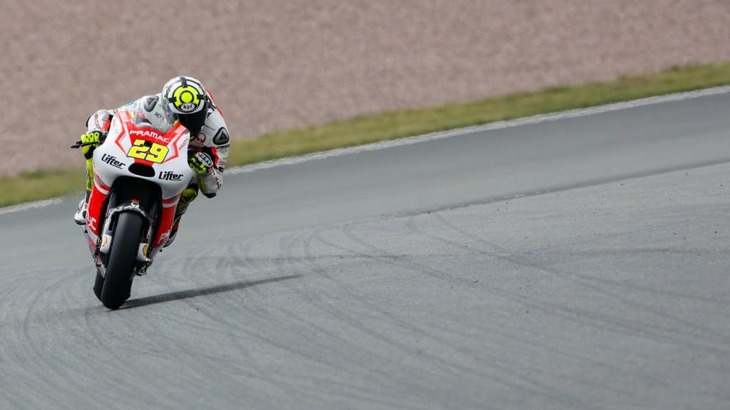 Andrea Iannone, Pramac Racing, GER FP3