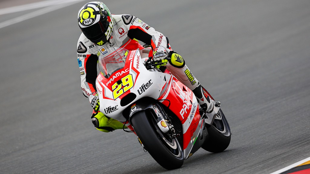 Andrea Iannone, Pramac Racing, GER Q2
