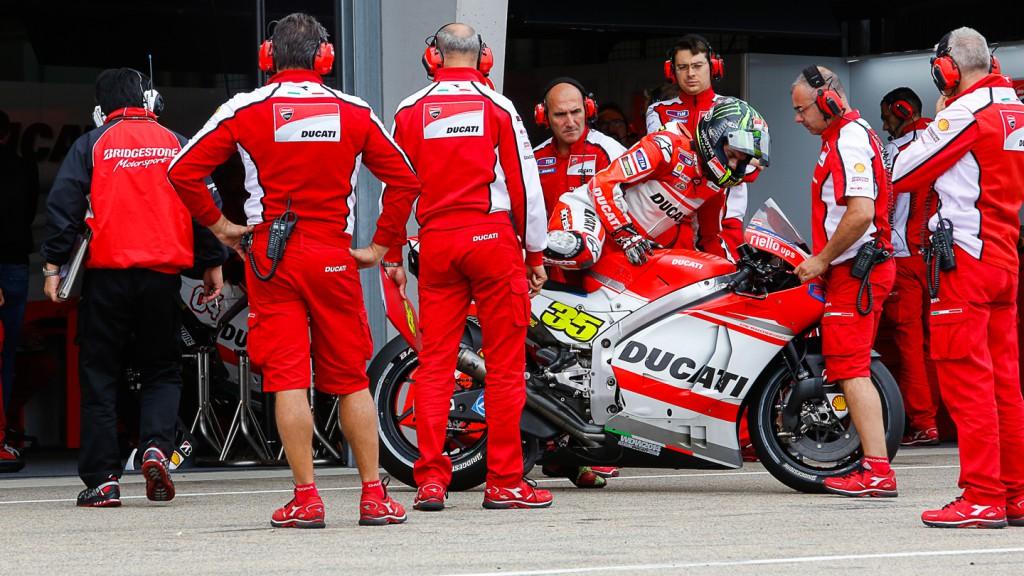 Cal Crutchlow, Ducati Team, GER Q1