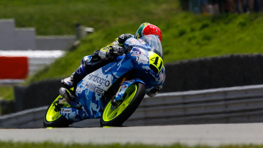 Brad Binder, Ambrogio Racing, GER QP
