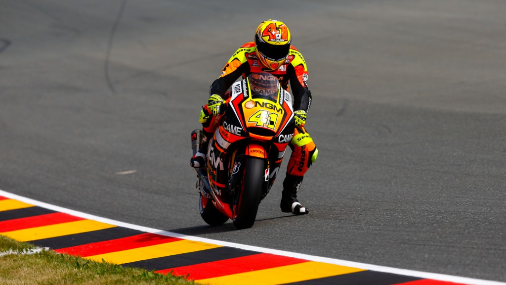 Aleix Espargaro, NGM Forward Racing, GER FP3