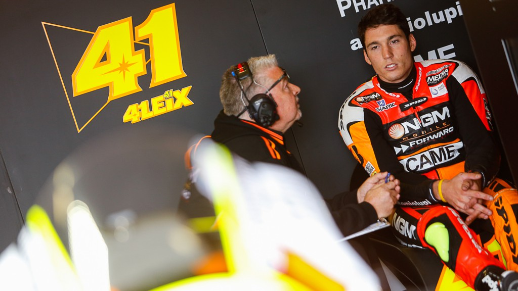 Aleix Espargaro, NGM Forward Racing, GER Q2