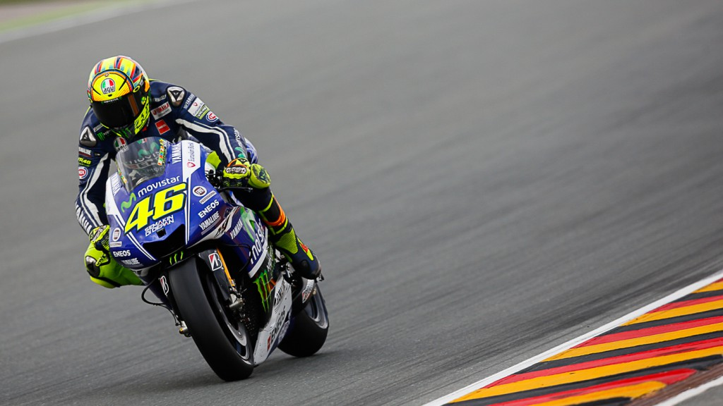 Valentino Rossi, Movistar Yamaha MotoGP, GER Q2