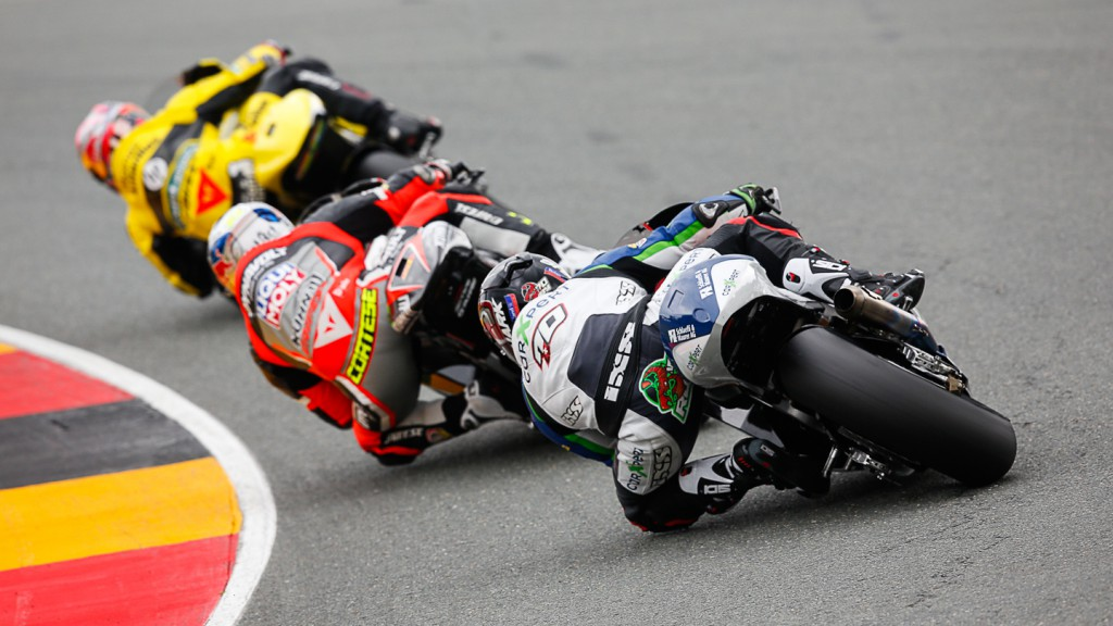 Moto2 Action, GER QP
