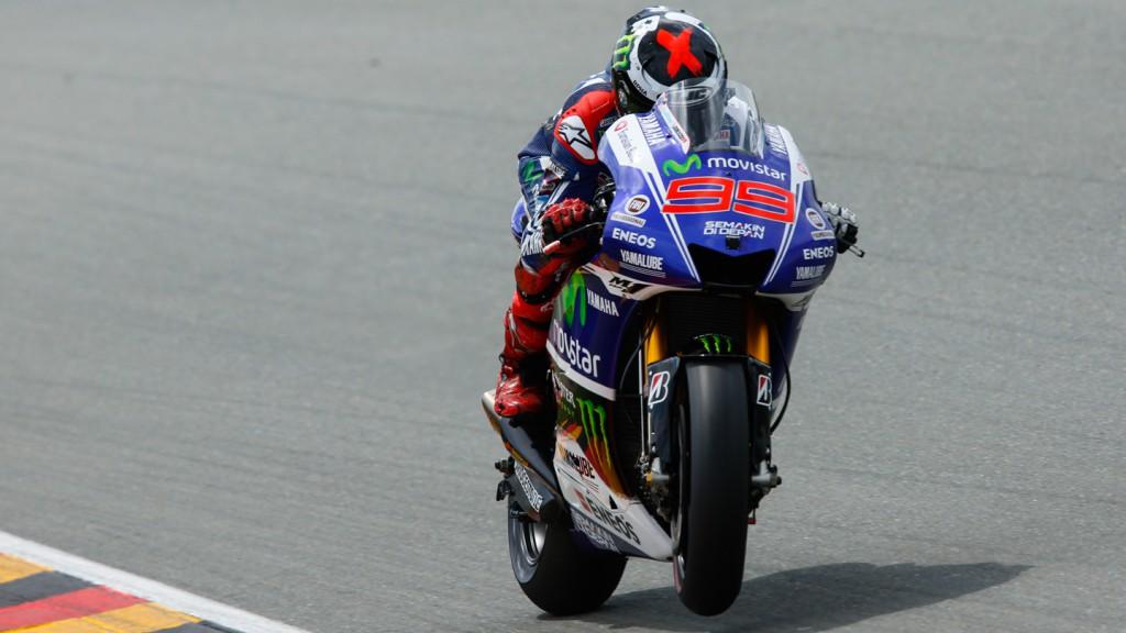Jorge Lorenzo, Movistar Yamaha MotoGP, GER FP3