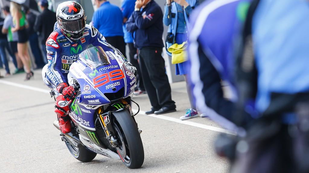 Jorge Lorenzo, Movistar Yamaha MotoGP, GER Q2