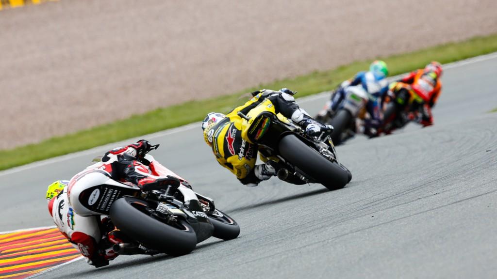 Maverick Viñales, Johann Zarco, Paginas Amarillas HP 40, AirAsia Caterham, GER RACE