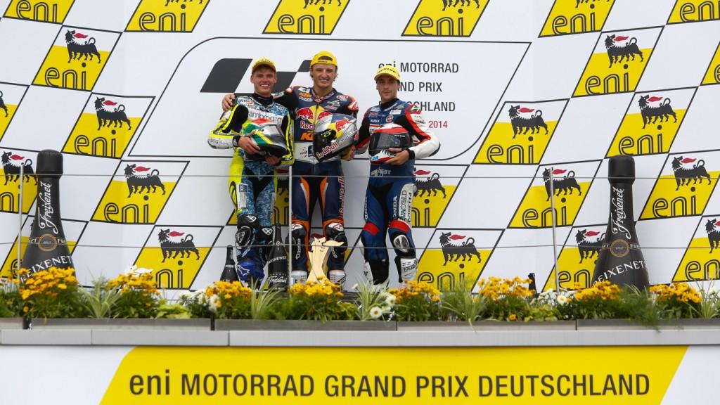 Moto3 Podium, GER RACE
