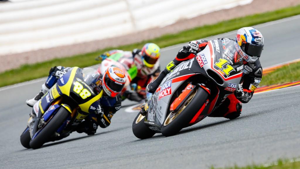 Ricard Cardus, Sandro Cortese, Tech 3, Dynavolt Intact GP, GER RACE