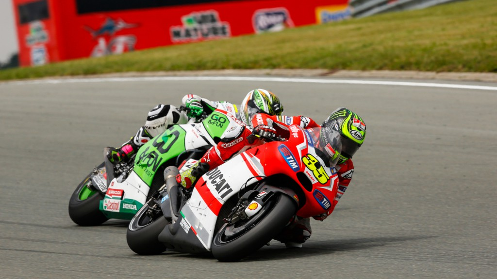 Alvaro Bautista, Cal Crutchlow, GO&FUN Honda Gresini, Ducati Team, GER RACE