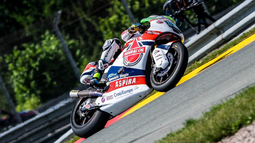 Xavier Simeon, Federal Oil Gresini Moto2, GER RACE