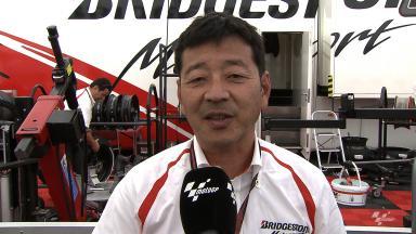 Sachsenring 2014 - MotoGP - RACE - Interview - Hiroshi Yamada
