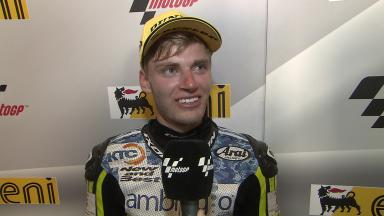 Sachsenring 2014 - Moto3 - RACE - Interview - Brad Binder