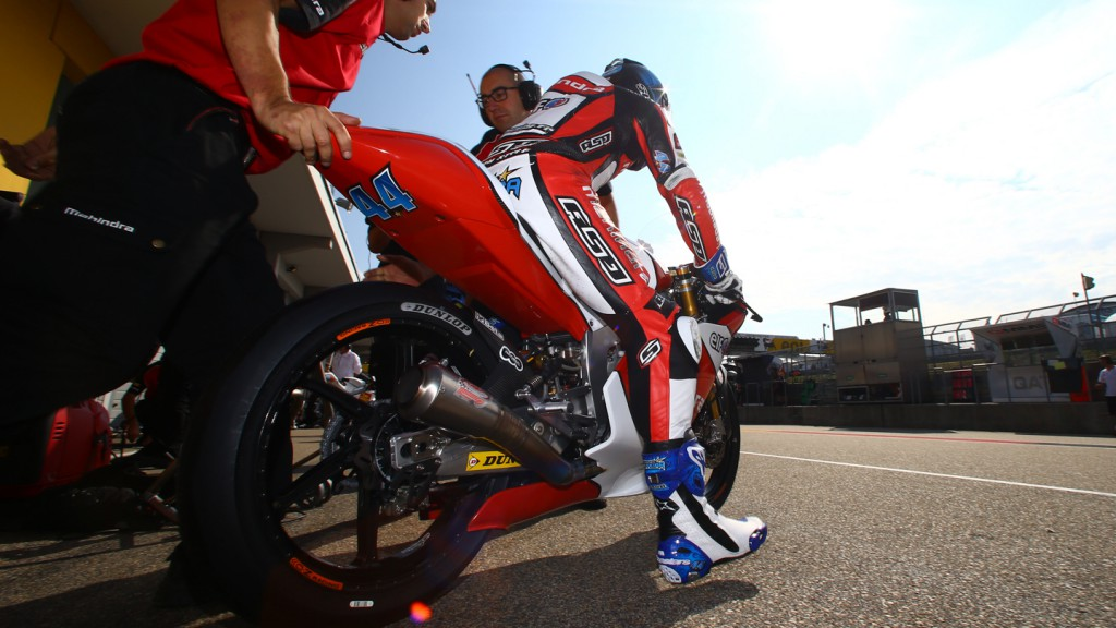 Miguel Oliveira, Mahindra Racing, GER RACE