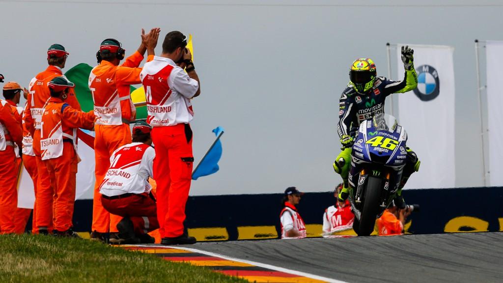 Valentino Rossi, Movistar Yamaha MotoGP, GER RACE