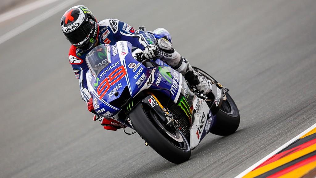Jorge Lorenzo, Movistar Yamaha MotoGP, GER RACE