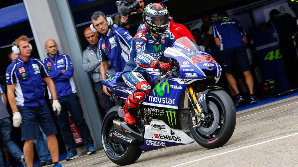 Jorge Lorenzo, Movistar Yamaha MotoGP, GER WUP