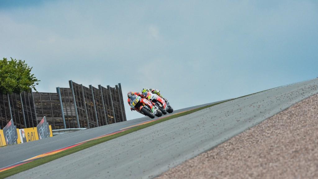 Stefan Bradl, Andrea Iannone, LCR Honda MotoGP, Pramac Racing, GER RACE