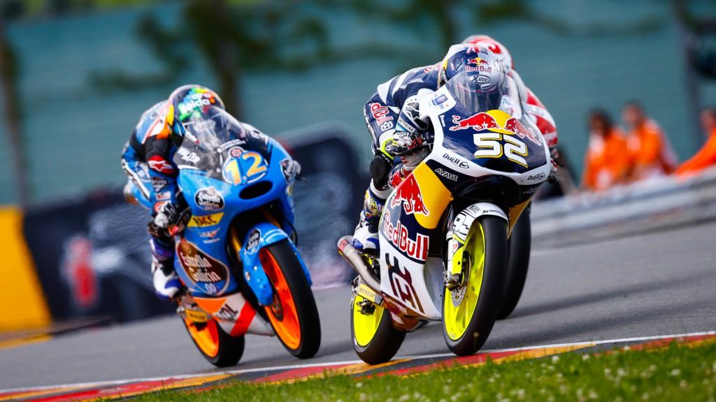 Danny Kent, Alex Marquez, Red Bull Husqvarna Ajo, Estrella Galicia 0,0, GER RACE