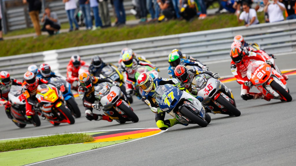 Moto2 Race start, GER RACE