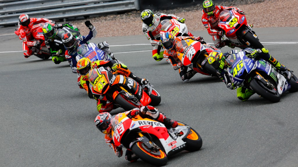 MotoGP Start, GER RACE