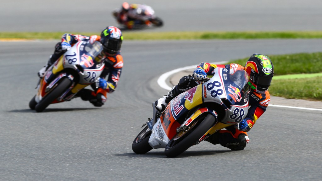 Red Bull Rookies Cup, Sachsenring race II