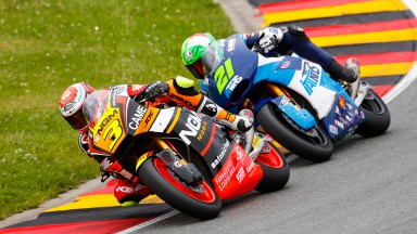 Simone Corsi, Franco Morbidelli, NGM Forward Racing, Italtrans Racing Team, GER RACE