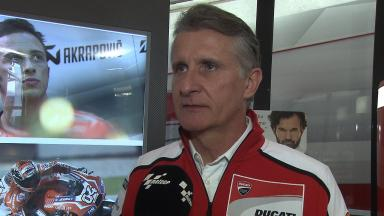 2014 - MotoGP - Half Season Interview - Paolo Ciabatti