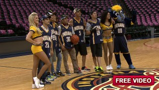 MotoGP™ riders take to the Pacers' Playground