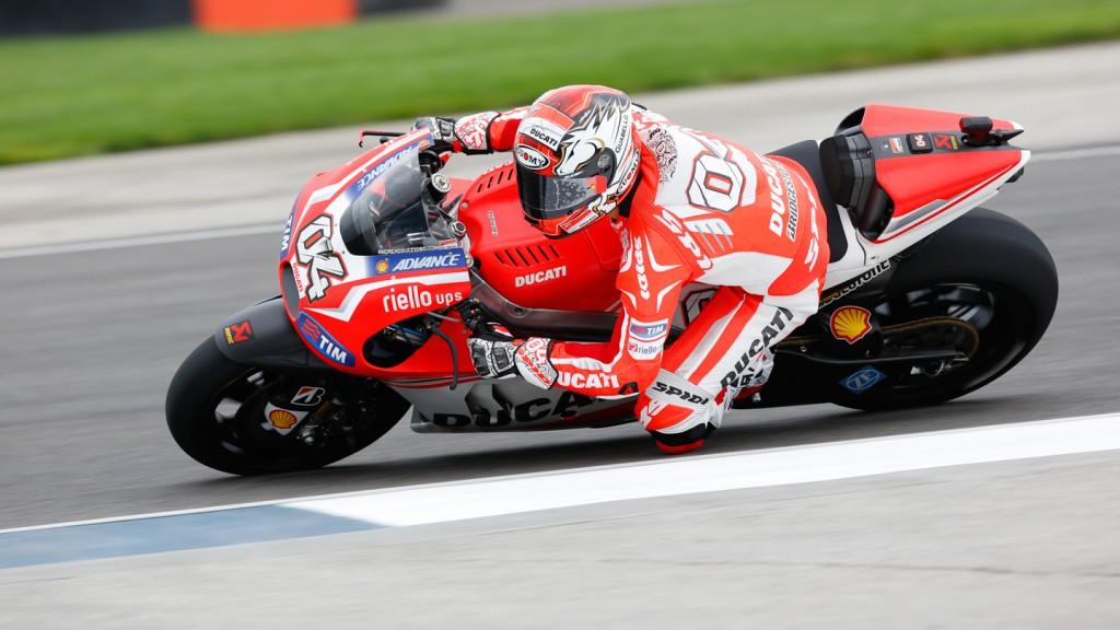 Andrea Dovizioso, Ducati Team, INP FP1