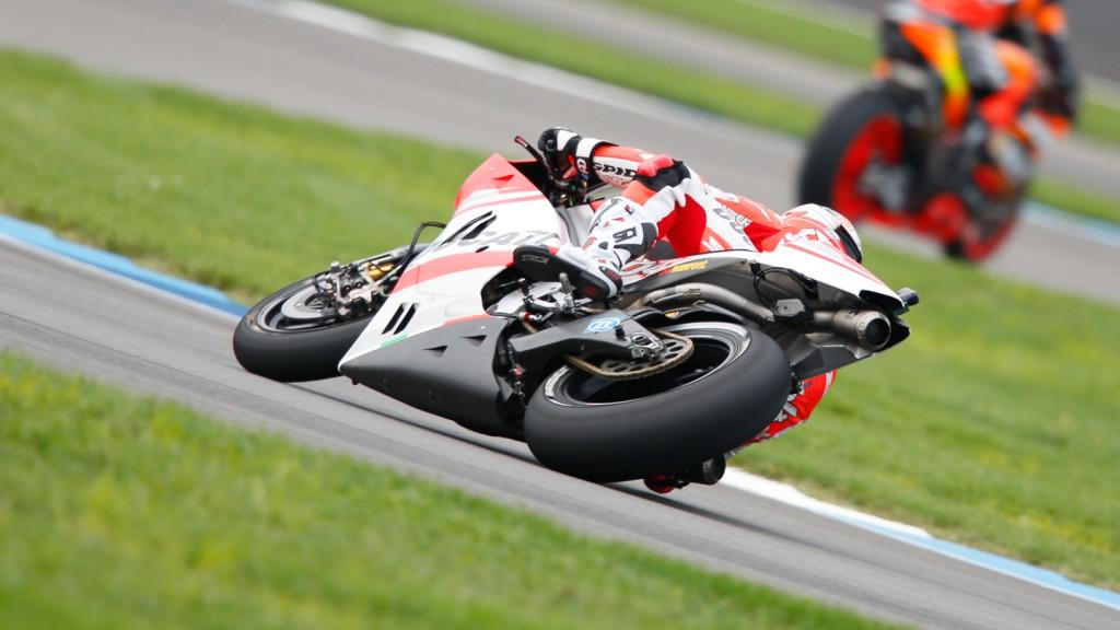 Andrea Dovizioso, Ducati Team, INP FP2