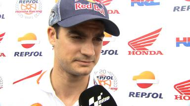Pedrosa: 'New track is faster, otherwise not that different'