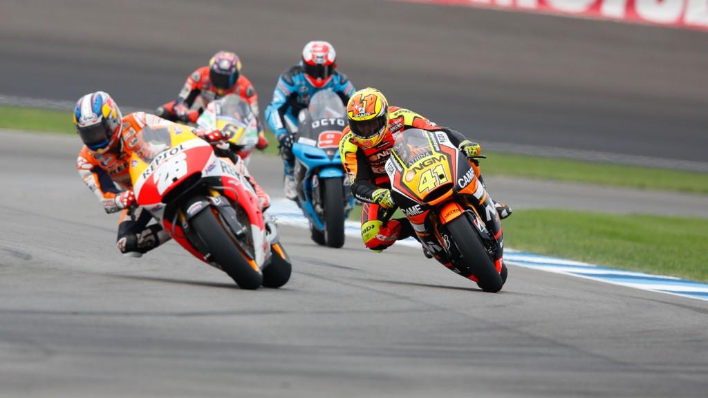 Dani Pedrosa, Aleix Espargaro, Repsol Honda Team, NGM Forward Racing, INP FP2