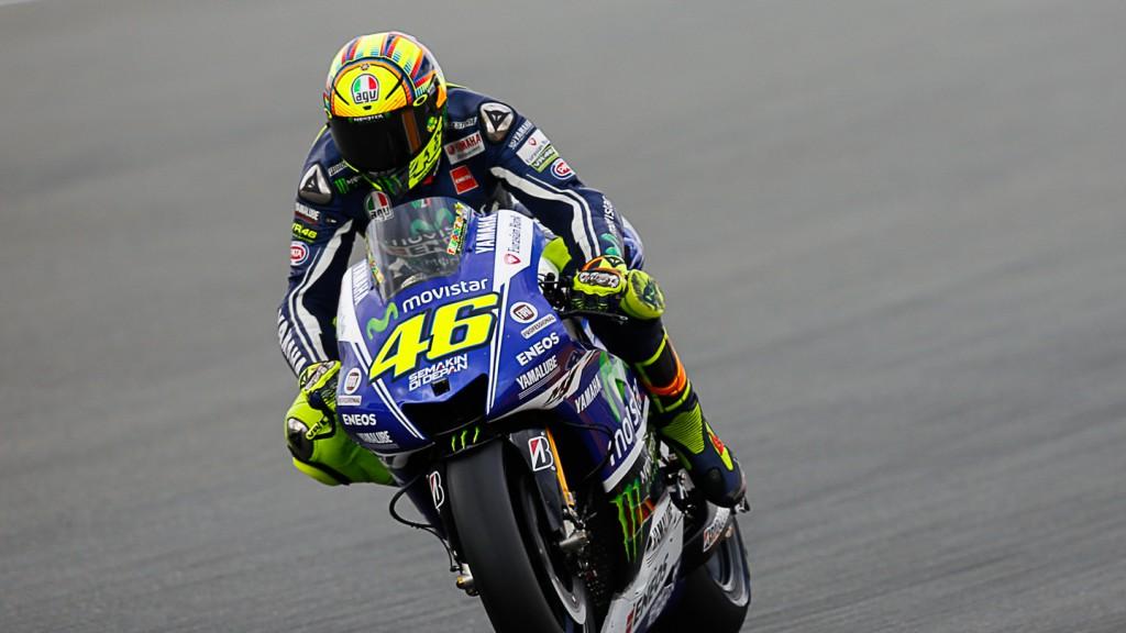 Valentino Rossi, Movistar Yamaha MotoGP, INP FP1