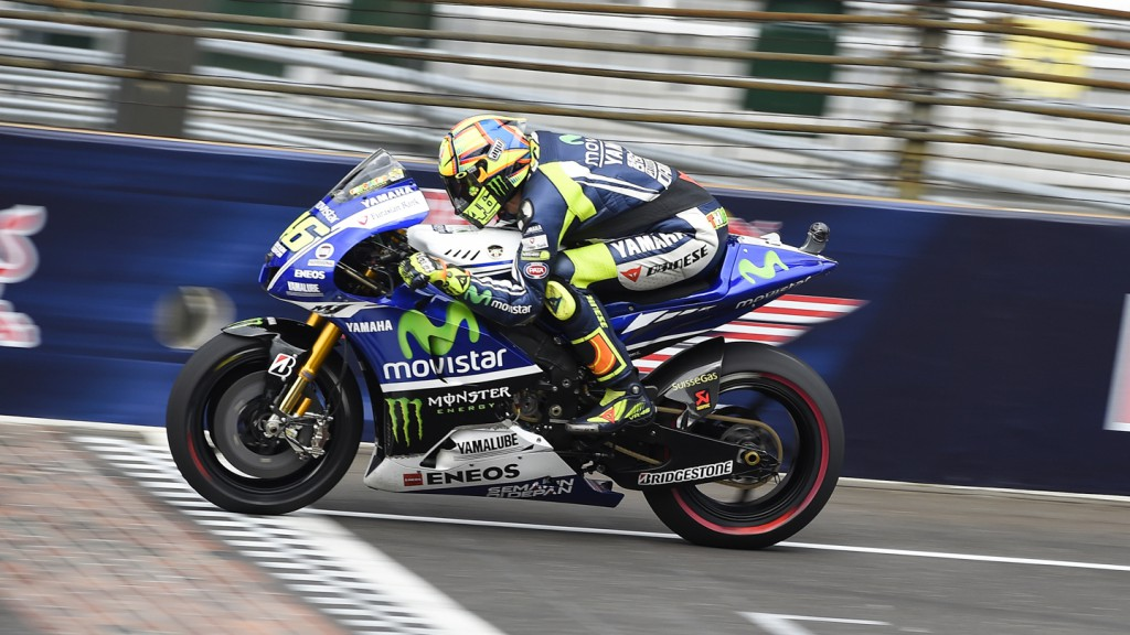 Valentino Rossi, Movistar Yamaha MotoGP, INP FP2