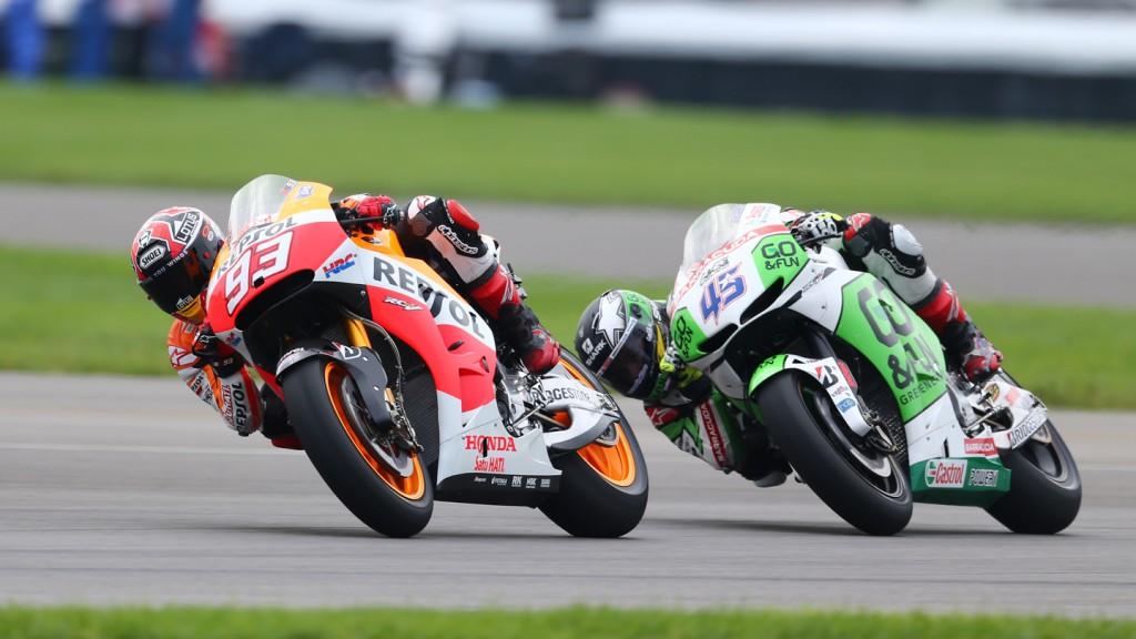 Marc Marquez, Scott Redding, GO&FUN Honda Gresini, Repsol Honda Team, INP FP1