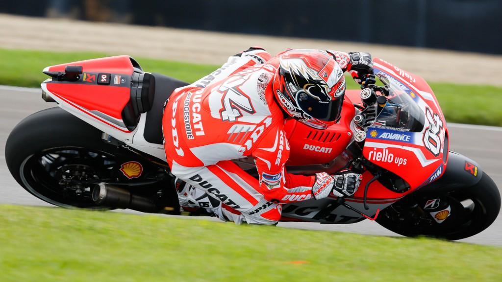 Andrea Dovizioso, Ducati Team, INP FP3