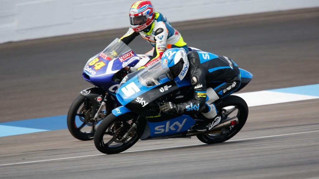 Romano Fenati, Jakub Kornfeil, Calvo Team, SKY Racing Team  VR46, INP QP