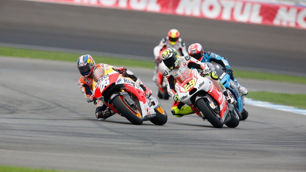 Andrea Iannone, Dani Pedrosa, Pramac Racing, Repsol Honda Team, INP FP3
